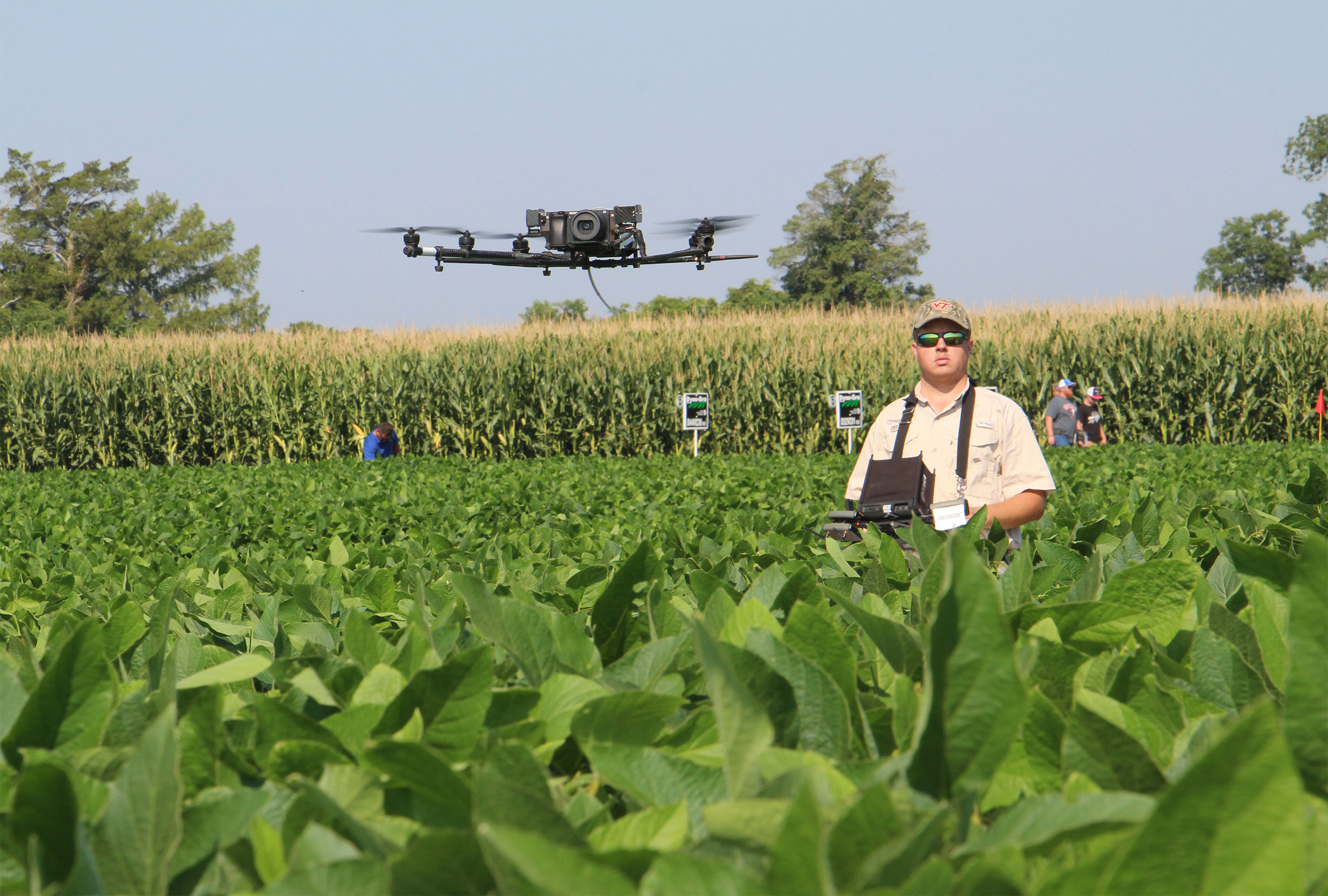Researchers at Agricultural Research and Extension Centers around the state are investigating how cutting-edge technology tools such as drones can be used by producers to streamline their operations.
